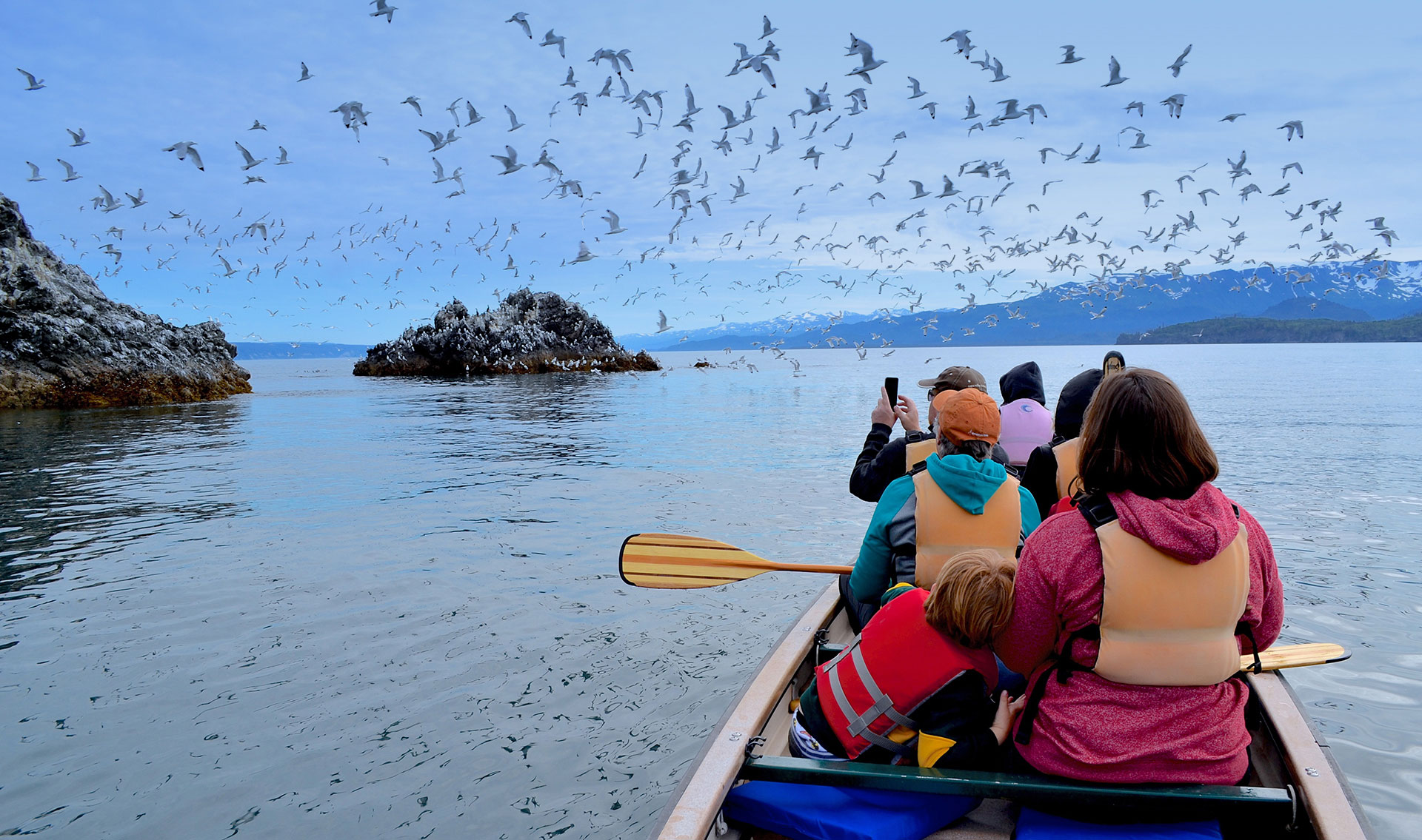 Kachemak Bay Wilderness Lodge - Exploring Gull Island